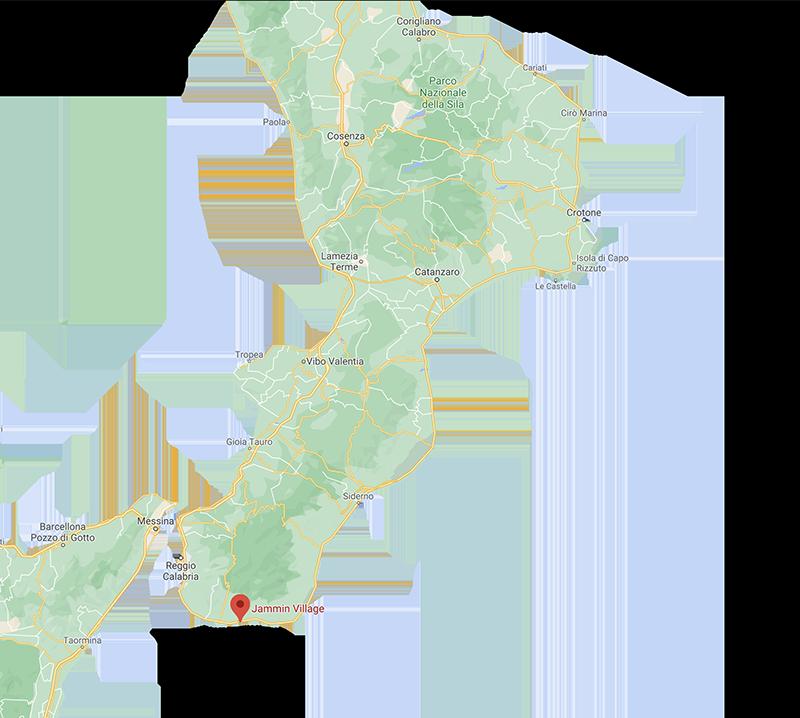 Cartina Villaggio jammin